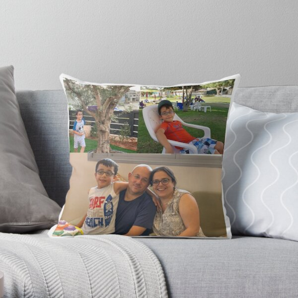 NoamAndfamily  Throw Pillow