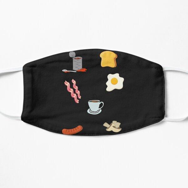 Full English Breakfast Sticker Pack Flat Mask