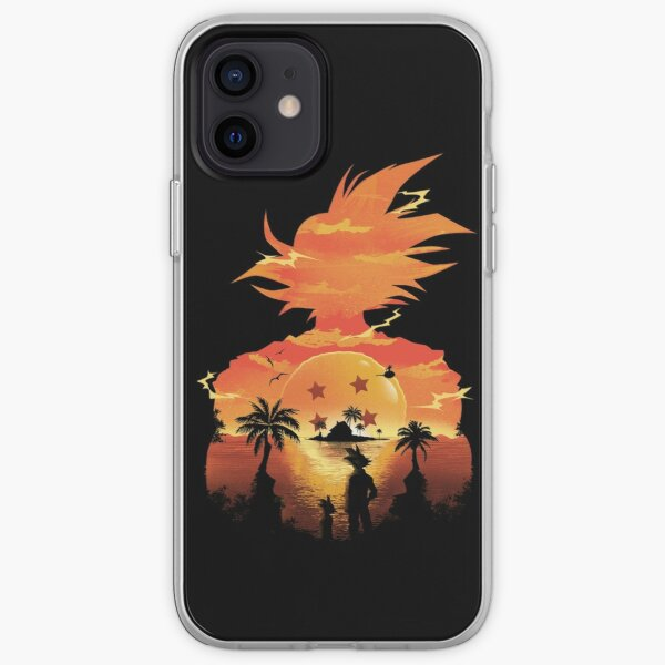 Goku Beautiful Sunset  SKY iPhone Soft Case