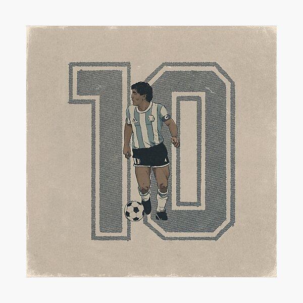 Diego Armando Maradona  Photographic Print