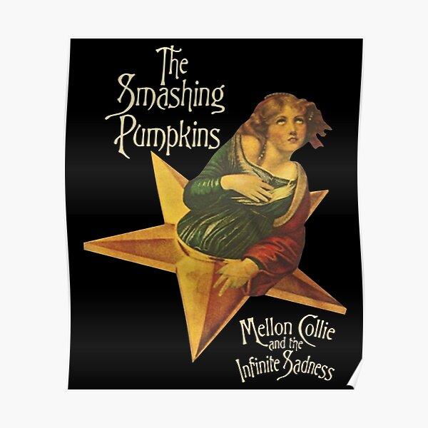 sadness The Smashing Pumpkins grew up art Poster