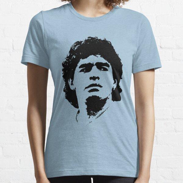 Camiseta Diego Maradona Pop Art Portrait Camiseta esencial