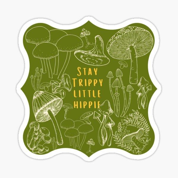 Trippy Hippie Sticker