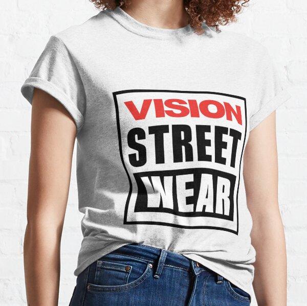 New Vision Street Wear Skateboard Logo Classic T-Shirt