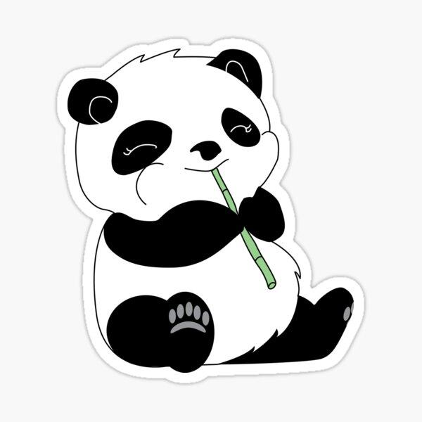 Panda Pegatina