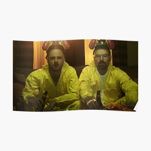 Breaking Bad 4k Heisenberg x Jesse Poster