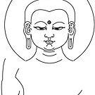 Budha Mudra by Jacqui Fae