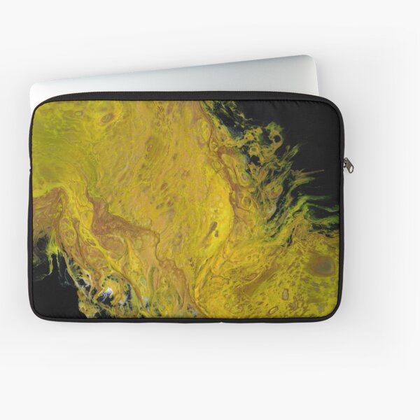 River of Gold Laptop Sleeve