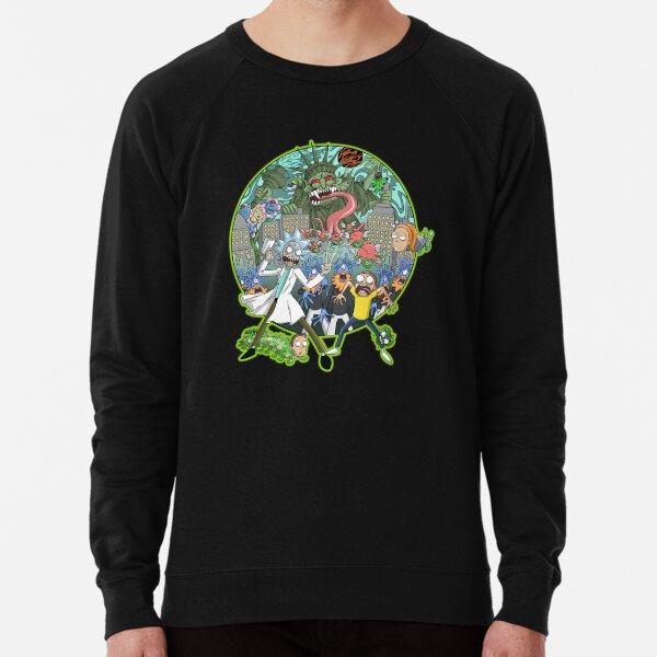 Rick and Morty Earth Dimension C-137 Interdimensional Twist Lightweight Sweatshirt