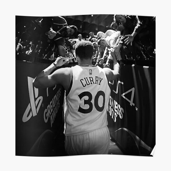 Stephen curry Black / White Poster