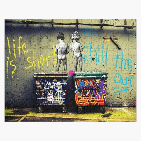 Banksy Chill le canard Puzzle