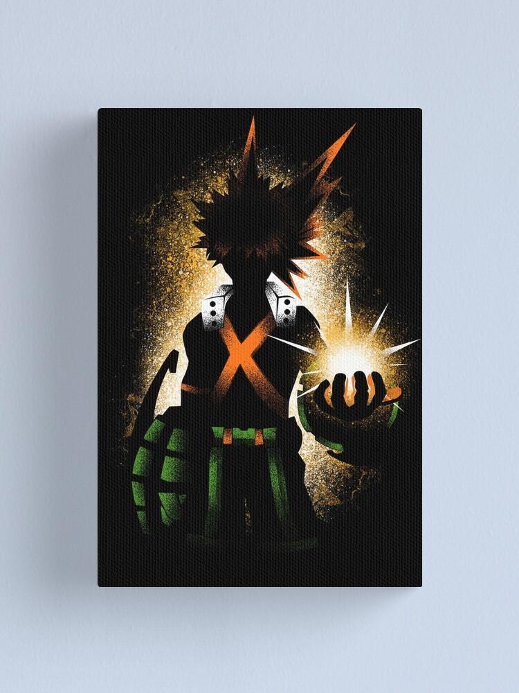Alternate view of Bakugo - Dark Canvas Print