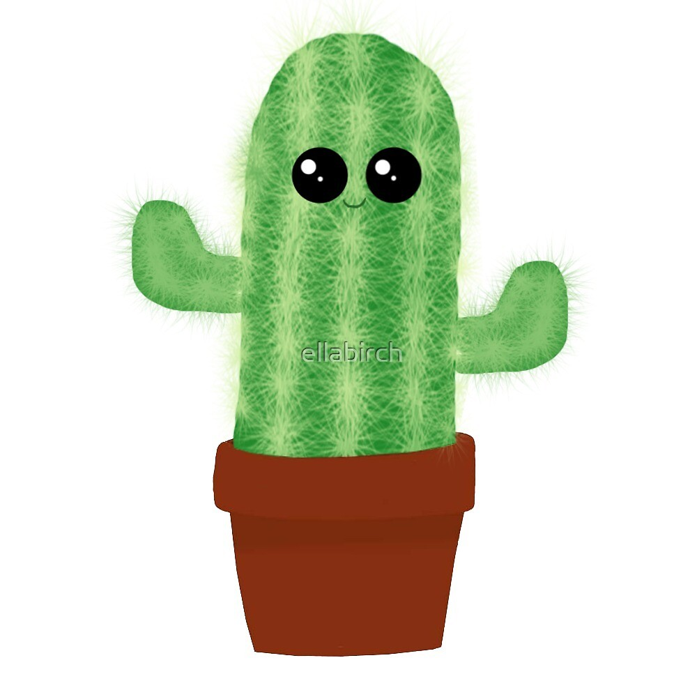 Cute Cactus by ellabirch