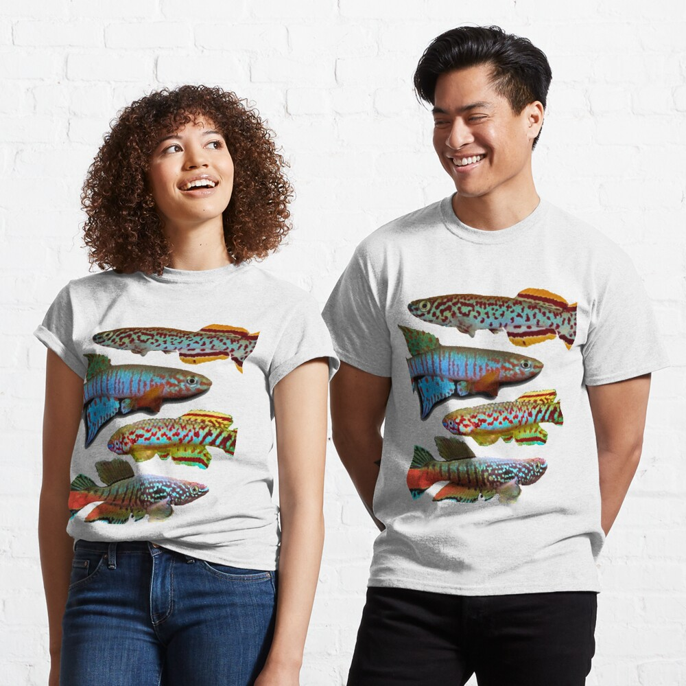 4 African Killifish Classic T-Shirt