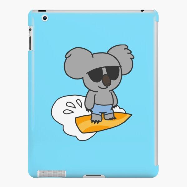 Surfing Koala iPad Snap Case