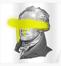 Alexander Hamilton - Eyes On You Poster