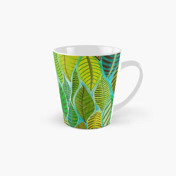 Vivid Jungle Leaves for a Tropical Feel Tall Mug