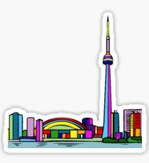 Pegatina Skyline de Toronto