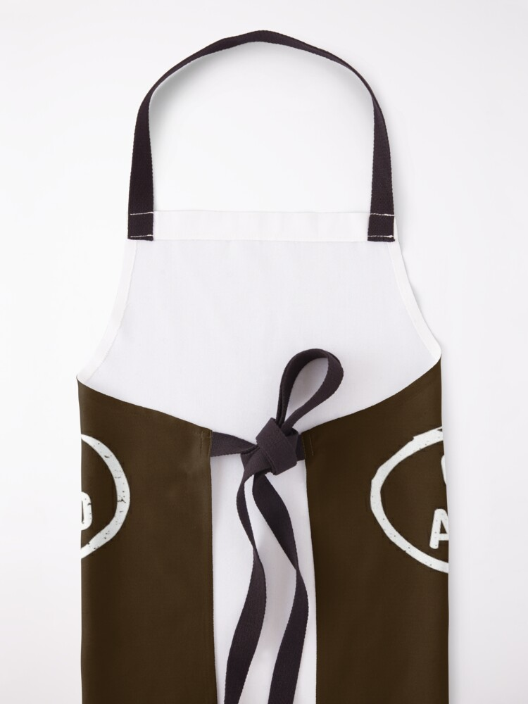 Alternate view of Coffee because adulting is hard Apron