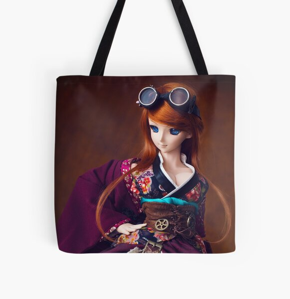 Steampunk Kimono · Yuuko All Over Print Tote Bag