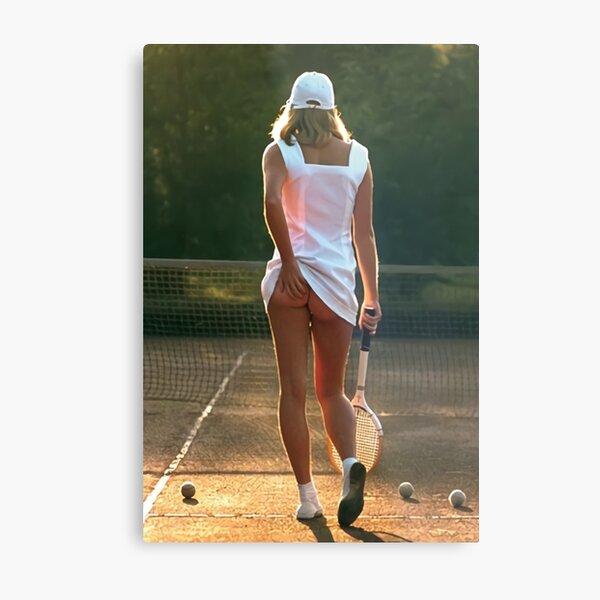 tennis girl martin elliott Metal Print