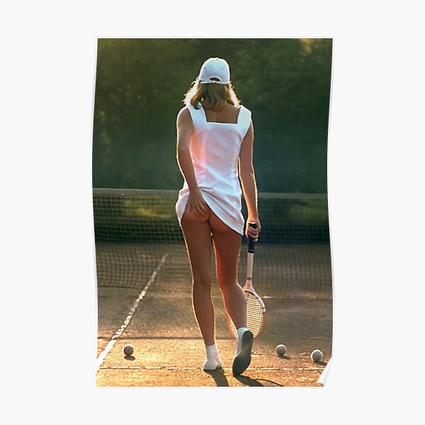 tennis girl martin elliott Poster