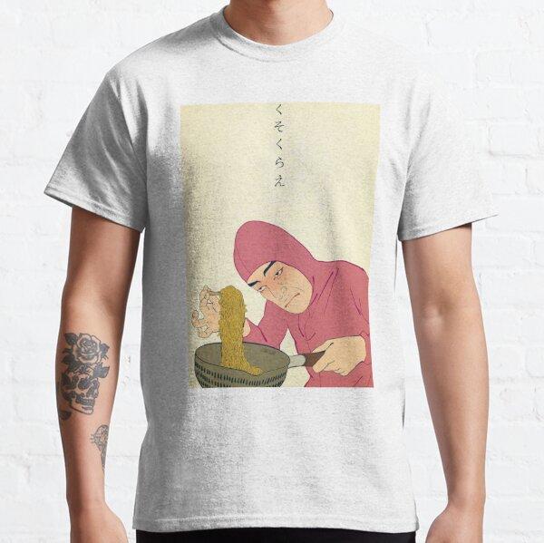 PINK-GUY-COOKS-RAMEN-RAPS Camiseta clásica
