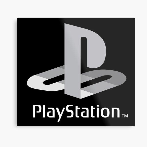 Original Playstation Logo Metal Print