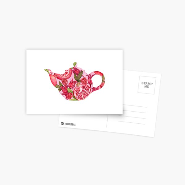 What's In Your Tea No. 2 Postcard