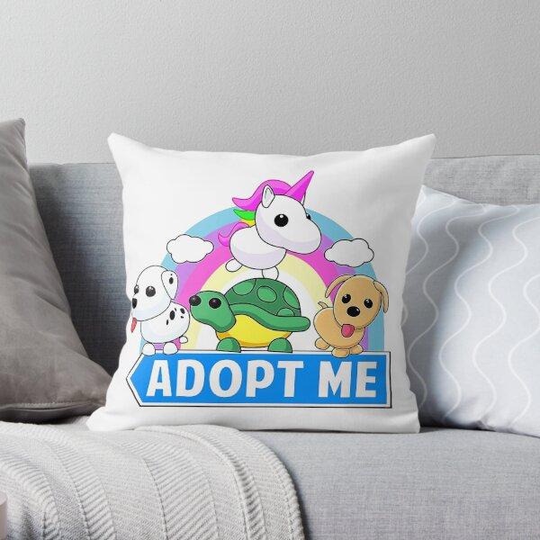 Most Favorite of Cute animal adopt Unicorn Throw Pillow