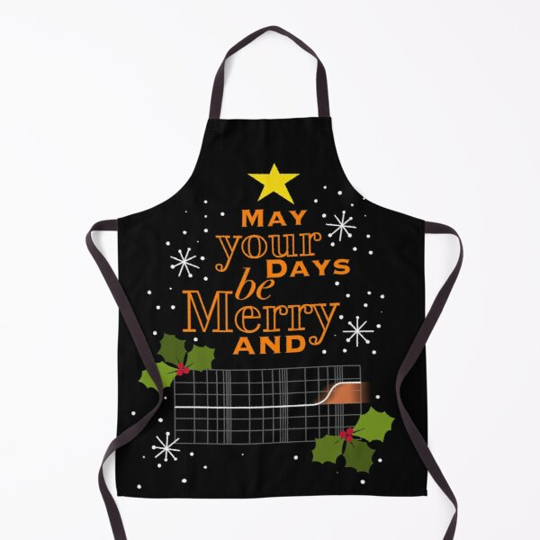May Your Days Be Merry And... Apron