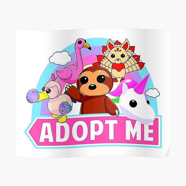 Most Favorite of Cute animal adopt Unicorn Poster