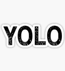 YOLO! Sticker