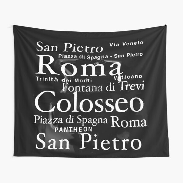 Vatican city masks black Tapestry
