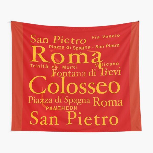Vatican city masks  Tapestry