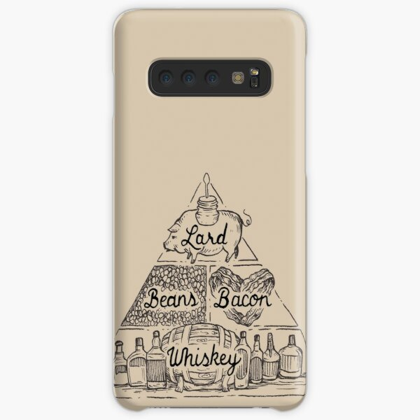 The Four Basic Food Groups Samsung Galaxy Snap Case