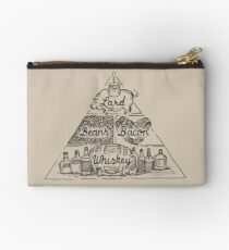 The Four Basic Food Groups Studio Pouch