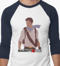 Uncharted 3 - Minimalist Drawing T-Shirt