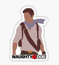 Uncharted 3 - Minimalist Drawing Sticker