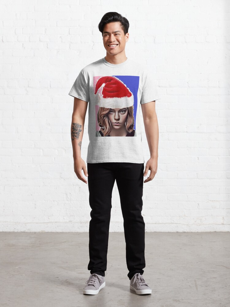 Alternate view of The Queen's Gambit - about Beth Harmon Christmas Edition Classic T-Shirt