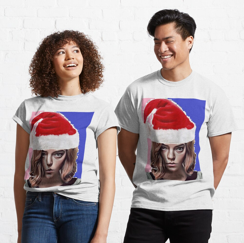 The Queen's Gambit - about Beth Harmon Christmas Edition Classic T-Shirt