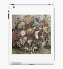 EUGENE DELACROIX,  BOUQUET OF FLOWERS iPad Case/Skin