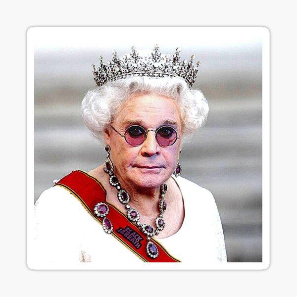 Queen Osbourne Sticker