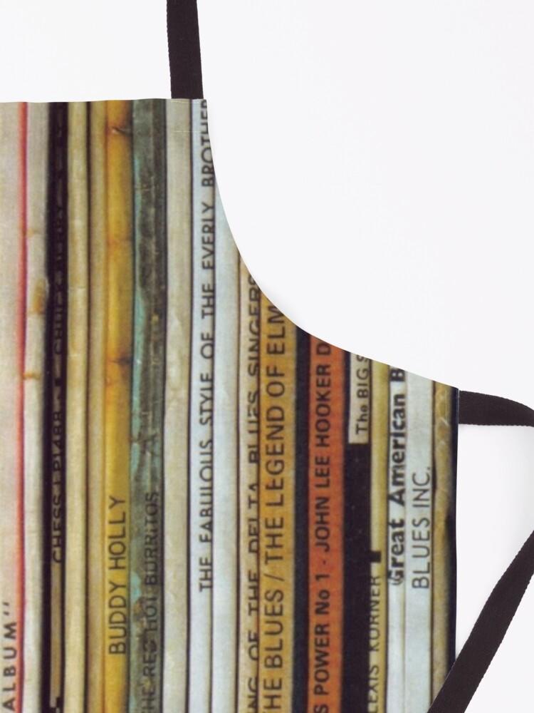 Alternate view of Vinyl records Apron
