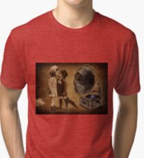 YOU ARE MY SWEETEST LOVE -VIDEO I MADE UP OVER 1,441 VIEWS ON UTUBE ) Tri-blend T-Shirt