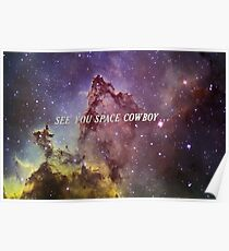 Man sieht sich, Space Cowboy... Poster