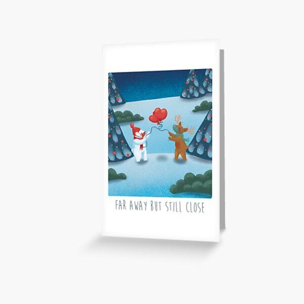 Little big hearts Greeting Card