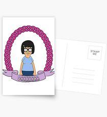 UHHHHHH // Tina Belcher Postcards