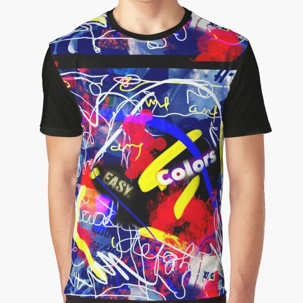 Easy Colors Graphic T-Shirt