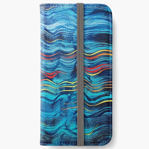 Deep sea iPhone Wallet